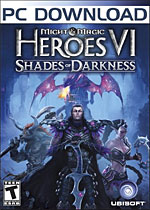 Might & Magic Heroes VI: Shades of Darkness Box Art