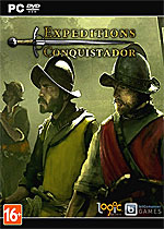Expeditions: Conquistador Box Art