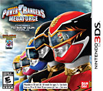 Power Rangers MEGAFORCE Box Art