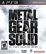 Metal Gear Solid: The Legacy Collection Box Art