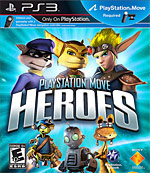 PlayStation Move Heroes Box Art