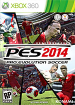 Pro Evolution Soccer 2014 Box Art