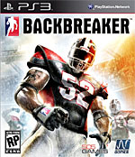Backbreaker Box Art