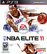 NBA Elite 11 Box Art