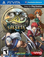 Ys: Memories of Celceta Box Art