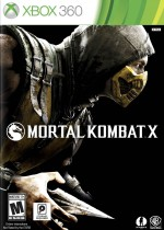 Mortal Kombat X Box Art