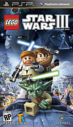 LEGO Star Wars III: The Clone Wars Box Art