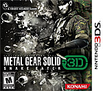 Metal Gear Solid 3D: Snake Eater Box Art