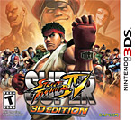 Super Street Fighter IV: 3D Edition Box Art