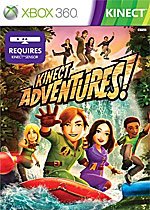 Kinect Adventures! Box Art