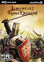 Lionheart: Kings' Crusade Box Art