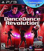 DanceDanceRevolution Box Art