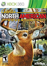 Cabela's North American Adventures Box Art