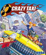 Crazy Taxi Box Art