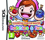 Cooking Mama World: Hobbies & Fun Box Art