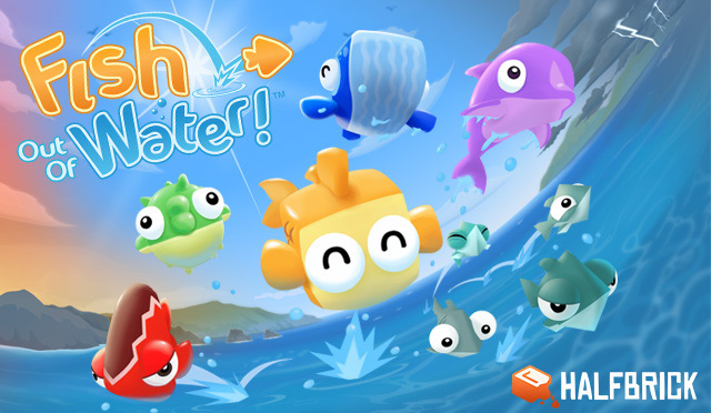 Halfbrick Studios Releases Fish out of Water! in Android